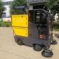 驾驶座驾式扫地车扫地机 新能源高压清洗雾炮一体扫地车 龙马新能源